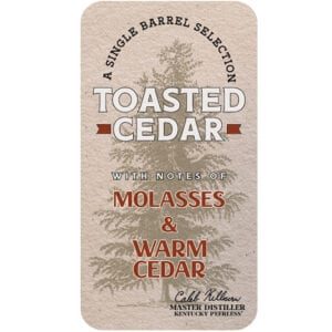 Toasted Cedar Peerless® Single Barrel Rye