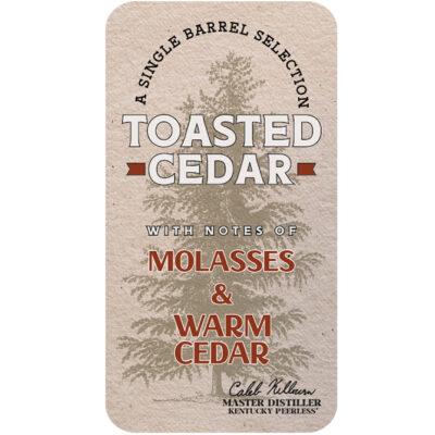Toasted Cedar Peerless® Single Barrel Rye