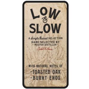 Low & Slow Peerless® Single Barrel Bourbon Master Distiller Pre-signed