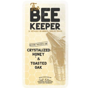 The Beekeeper Peerless® Single Barrel Bourbon Master Distiller Pre-signed