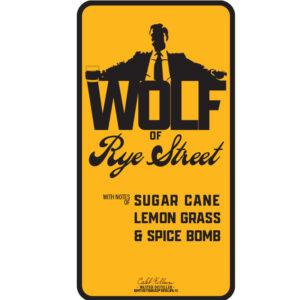 Wolf Of Rye Street Peerless® Single Barrel Rye Master Distiller Pre-signed