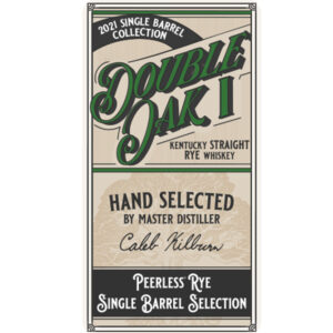 Double Oak Peerless® Single Barrel Rye 200ml