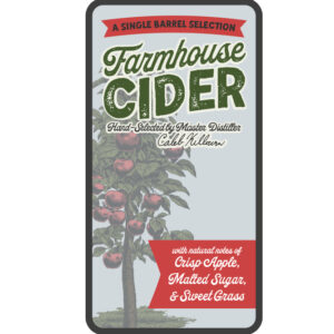 Farmhouse Cider Single Barrel Rye Whiskey
