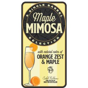 Maple Mimosa Peerless® Single Barrel Bourbon