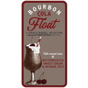 Bourbon Cola Float Peerless® Single Barrel Bourbon