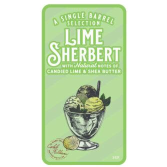 Lime-Sherbet