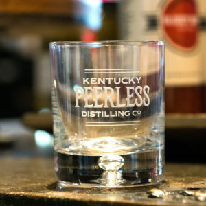 "Peerless ""On the Rocks"" Bourbon Glass"