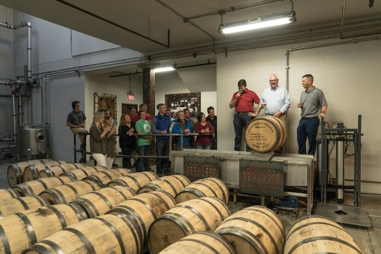 Peerless Distillery First Barrel Dump 4-27-17-8