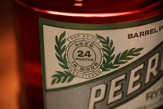Peerless the best Rye Whiskey