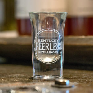 Kentucky Peerless Shot Glass