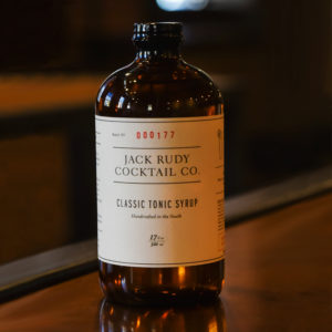 Jack Rudy Tonic Syrup