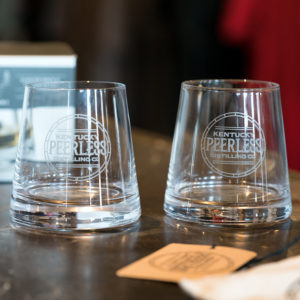 Peerless Rock Glass And Tumbler Set
